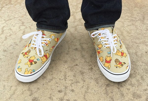 Vans Authentic Winnie l'Ourson x Disney