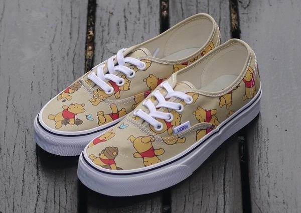 Vans Authentic x Disney 'Winnie The Pooh'