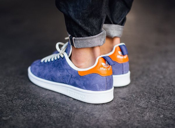 Adidas Stan Smith Indigo Orange White | Sneakers-actus