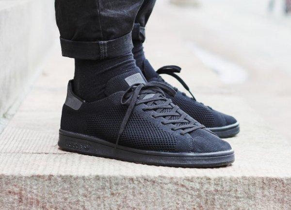 sélection premium 9881d d76a5 adidas stan smith triple black