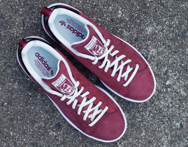 Adidas Stan Smith Suede Rust Red White | Sneakers actus