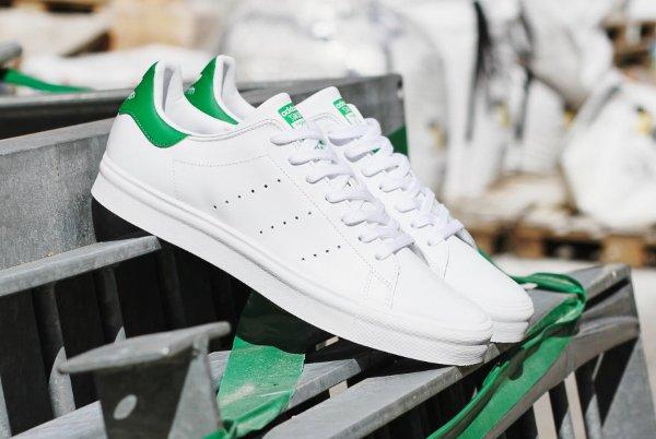Adidas Stan Smith Vulc OG White Green (1)