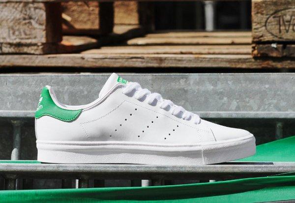 Adidas Stan Smith Vulc OG White Green (2)