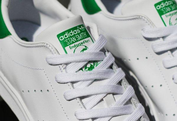 Adidas Stan Smith Vulc White Green