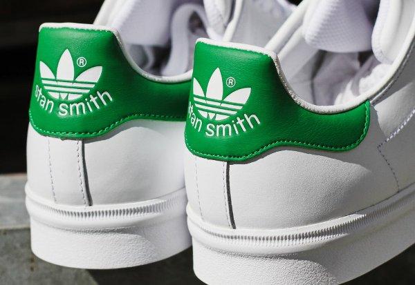 Adidas Stan Smith Vulc OG blanche et verte (2)