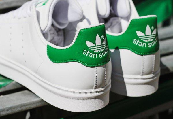 Adidas Stan Smith Vulc OG blanche et verte (3)
