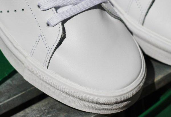 Adidas Stan Smith Vulc OG blanche et verte (4)