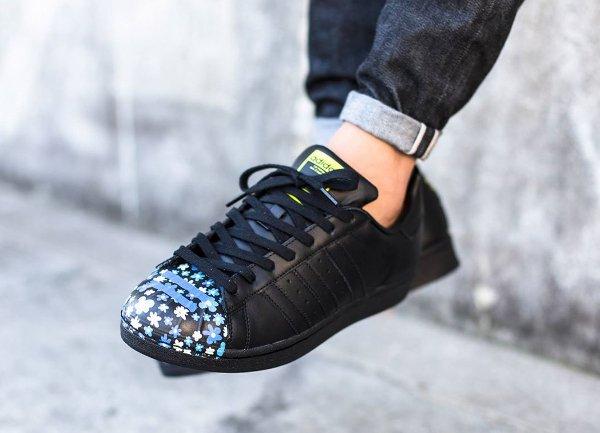 Adidas Superstar Supershell x Pharrell Williams Core Black