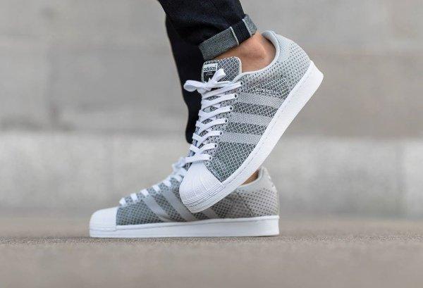 Adidas Superstar Weave 'Clear Grey'