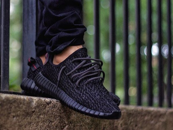 Adidas Yeezy 350 Boost Pirate Black - @alvin_sole_23