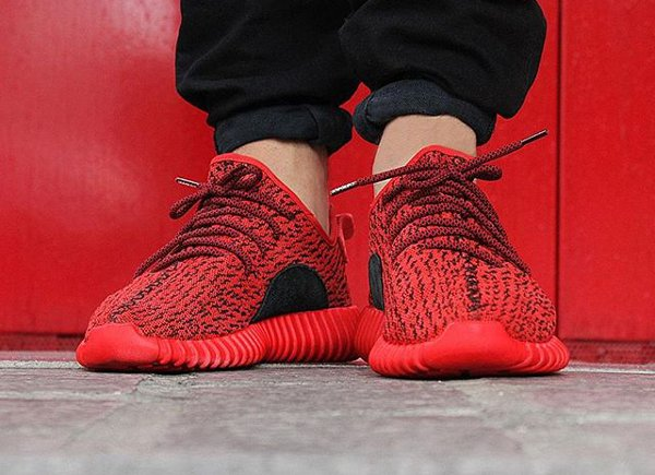 Adidas Yeezy 350 Boost Turtle Red x Paul Pogba