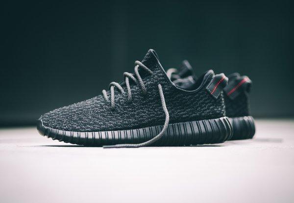 Adidas Yeezy Boost 350 Black par Kanye West (1)