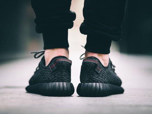 Adidas Yeezy Boost 350 Black par Kanye West (3)
