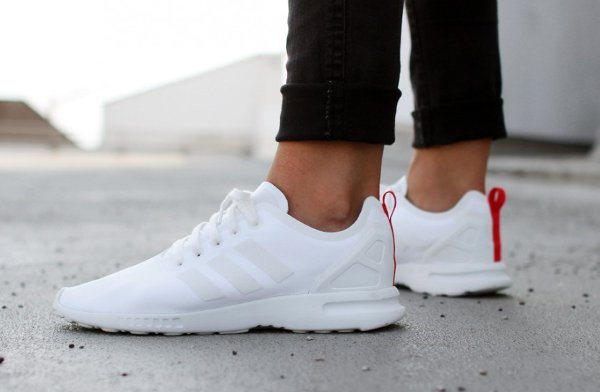 Adidas ZX Flux 8000 Smooth Core White (1)