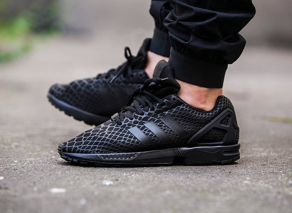 Adidas ZX Flux Techfit Black Snake | Sneakers actus