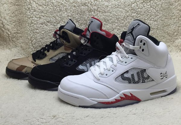 Air Jordan 5 x Supreme NYC