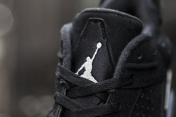 Air Jordan 6 Retro Low Black Metallic Silver  (4)