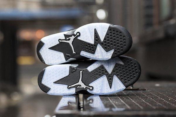 Air Jordan 6 Retro Low Black Metallic Silver  (8)