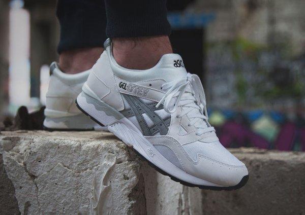 Asics Gel Lyte V White Light Grey | Sneakers actus