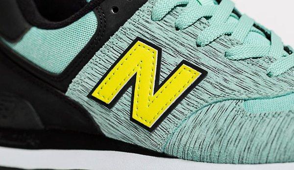 new balance wl574 noir et jaune