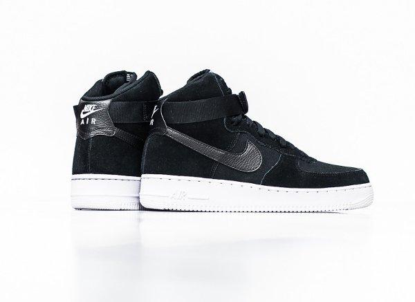 air force 1 black white