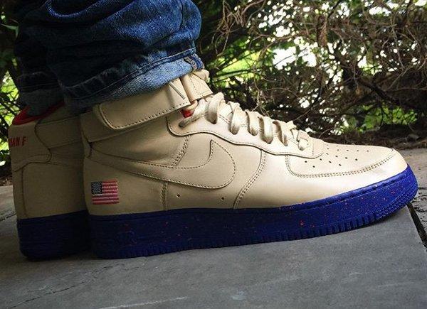 Nike Air Force 1 High ID Presidential - Brian A. Fredette