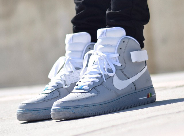 Nike Air Force 1 High Marty Mcfly   Sneakers actus