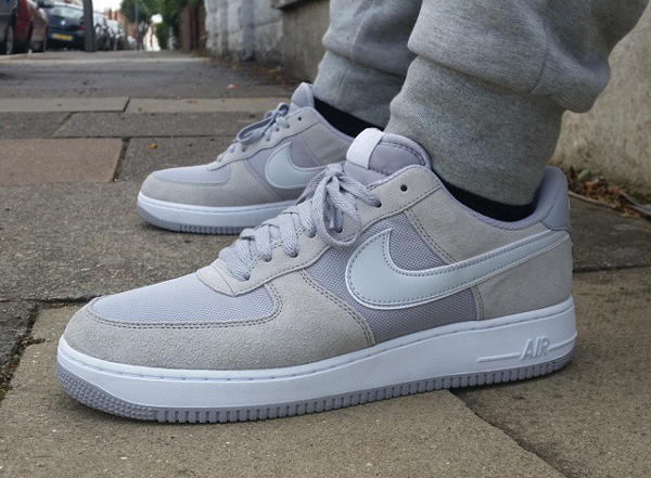 nike air force 1 wolf grey/white pure