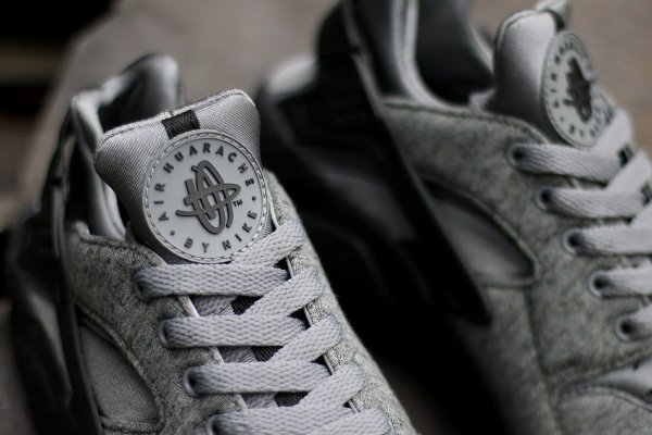 Nike Air Huarache Cool Grey Black (2)