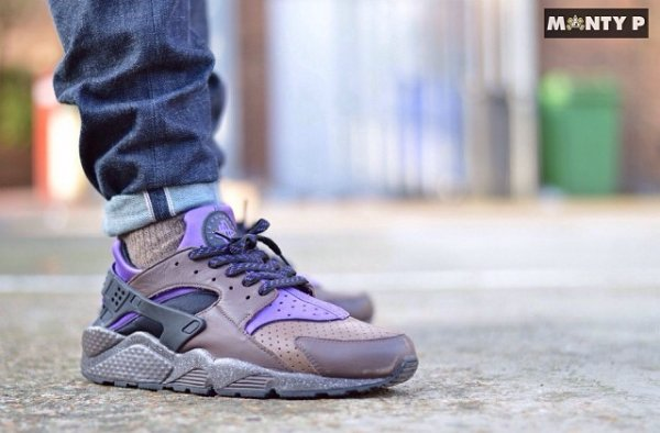 Nike Air Huarache Mowabb Charcoal Violet - The_monsta