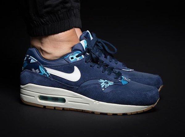 Nike Air Max 1 Aloha Floral Midnight Navy (2)