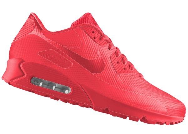 Nike Air Max 90 HYP Premium ID Solar Red