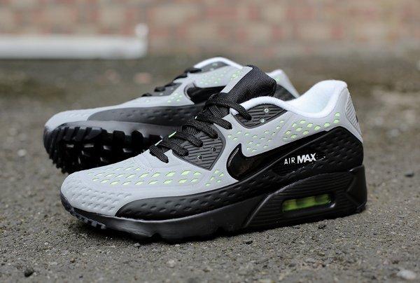 quality design c0c09 4d03e Nike Air Max 90 Ultra BR Grey Black Volt (1)