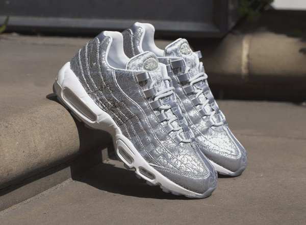 newest f23f1 762b6 Nike Air Max 95 Anniversary QS Pure Platinum