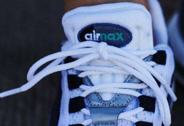 Nike Air Max 95 OG White New Green Bright Blue (2)