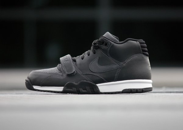 Nike Air Trainer 1 Mid Anthracite Black (2)