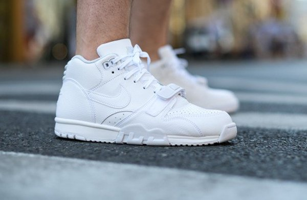 Nike Air Trainer 1 Mid White Pure Platinum (1)