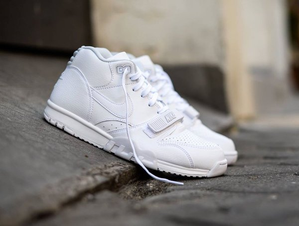 Nike Air Trainer 1 Mid White Pure Platinum (2)