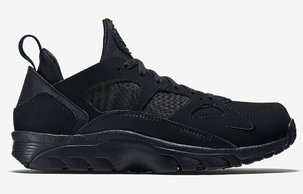Nike Air Trainer Huarache Low Black Black (1)