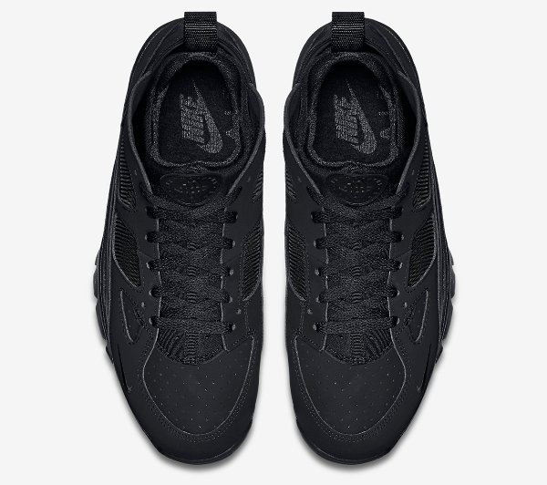 Nike Air Trainer Huarache Low Black Black (3)