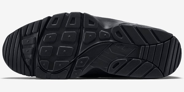 Nike Air Trainer Huarache Low Black Black (5)