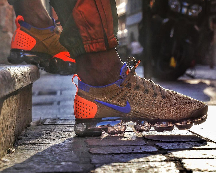 Nike Air Vapormax Flyknit 2 Golden Beige size_31000_toulouse