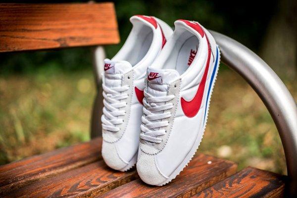 Nike Classic Cortez Nylon OG White Varsity Red (1)
