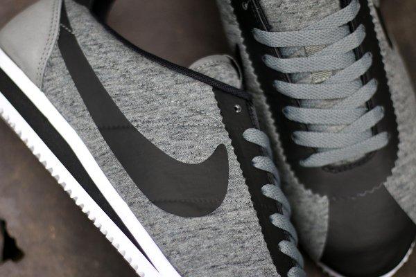 Nike Cortez Cool Grey Black (2)