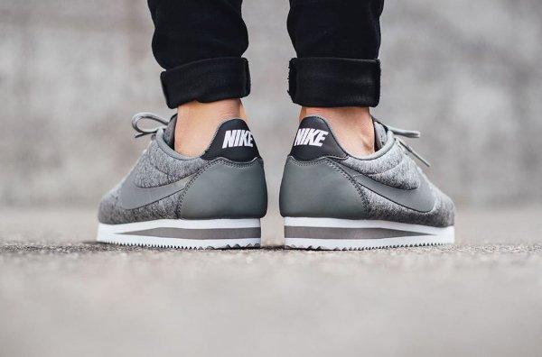 Nike Cortez Cool Grey Black (4)