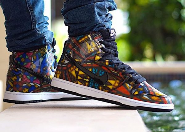 Nike Dunk High SB Stained Glass x Concepts 'Holy Grail' (1)