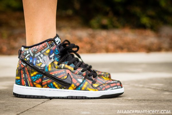 Nike Dunk High SB Stained Glass x Concepts 'Holy Grail' (3)