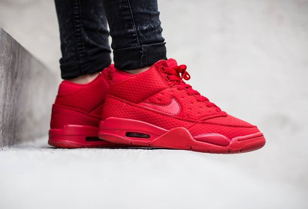 Nike Flight Squad Triple Red (2)