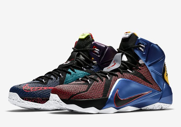 Nike Lebron 12 SE What The