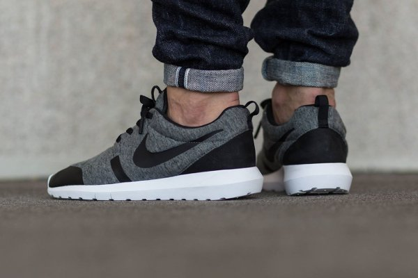 Nike Roshe Run NM Cool Grey Black (2)